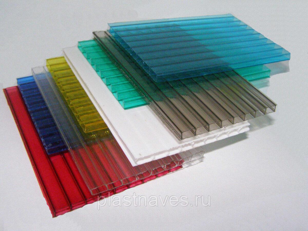 """Поликарбонат 4 мм  """"skyglass"""" цветной, 12 метров."""