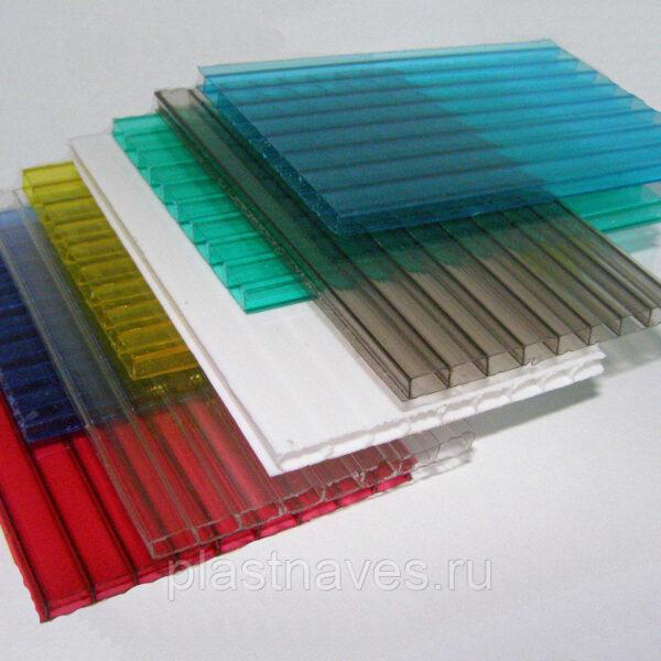 """Поликарбонат 16 мм  """"skyglass"""" цветной, 12 метров."""